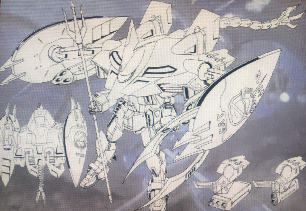 フォビドゥンマリン(GAT-X252M) 制作工程3