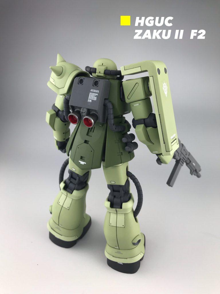 HGUC ザクII F2