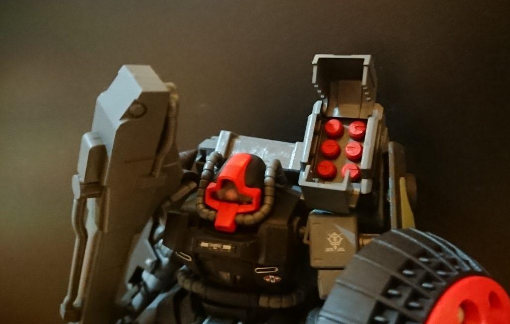 ドム試作実験機(実戦配備型)改 制作工程1