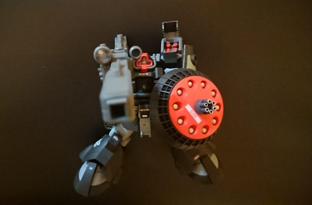 ドム試作実験機(実戦配備型)改 制作工程2