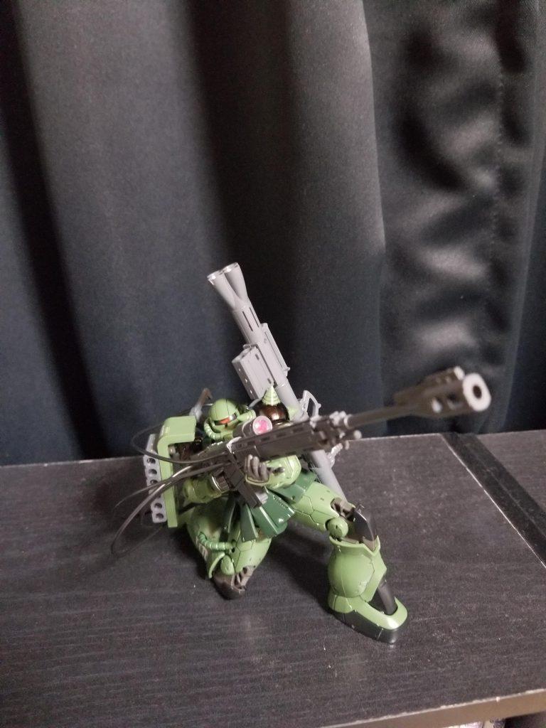 ザクII射撃任務装備