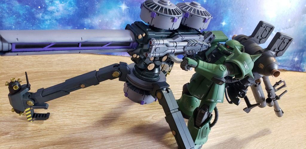 MS-06 ZAKUⅡ + BIG GUN