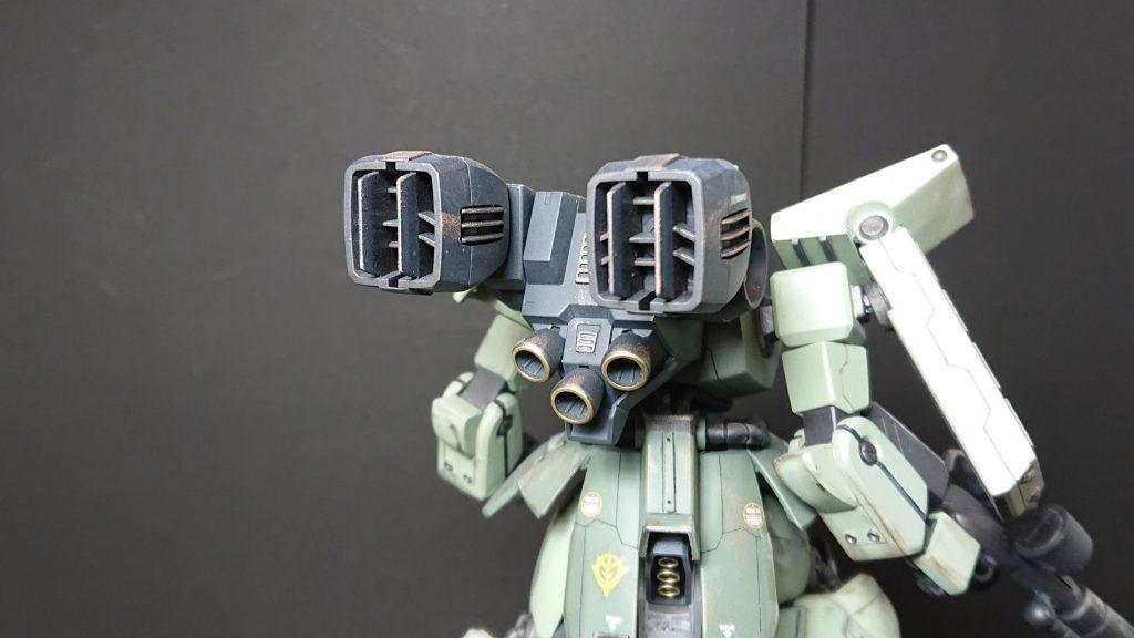 AMX-011G ZAKU-Ⅲ 【 ZEON-MARS type】陸戦型ザクⅢ 火星ジオン仕様 制作工程3