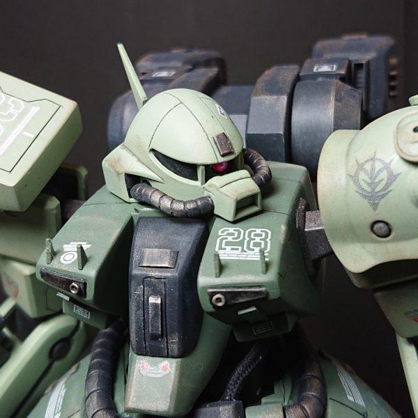AMX-011G ZAKU-Ⅲ 【 ZEON-MARS type】陸戦型ザクⅢ 火星ジオン仕様