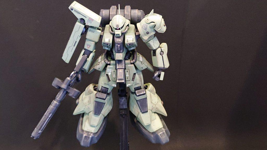 AMX-011G ZAKU-Ⅲ 【 ZEON-MARS type】陸戦型ザクⅢ 火星ジオン仕様 制作工程5