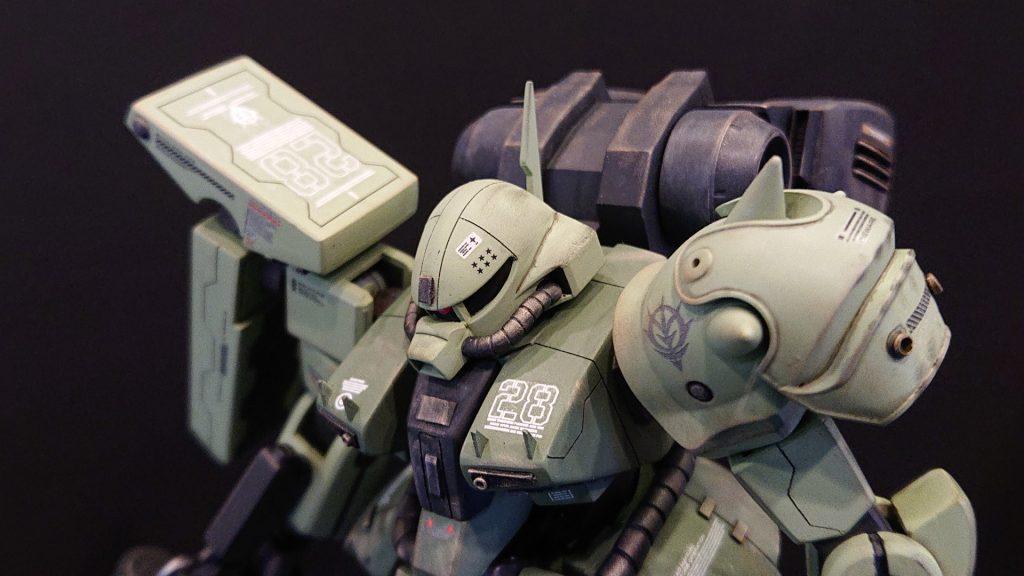 AMX-011G ZAKU-Ⅲ 【 ZEON-MARS type】陸戦型ザクⅢ 火星ジオン仕様 制作工程4