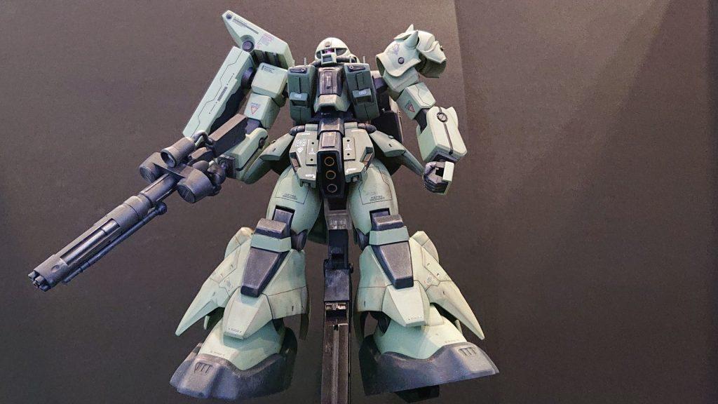 AMX-011G ZAKU-Ⅲ 【 ZEON-MARS type】陸戦型ザクⅢ 火星ジオン仕様 制作工程6