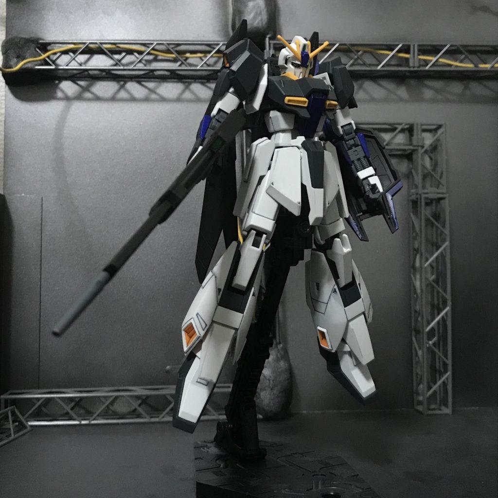 MSZ-006 ZガンダムWS(ウェイブシューター) アピールショット1