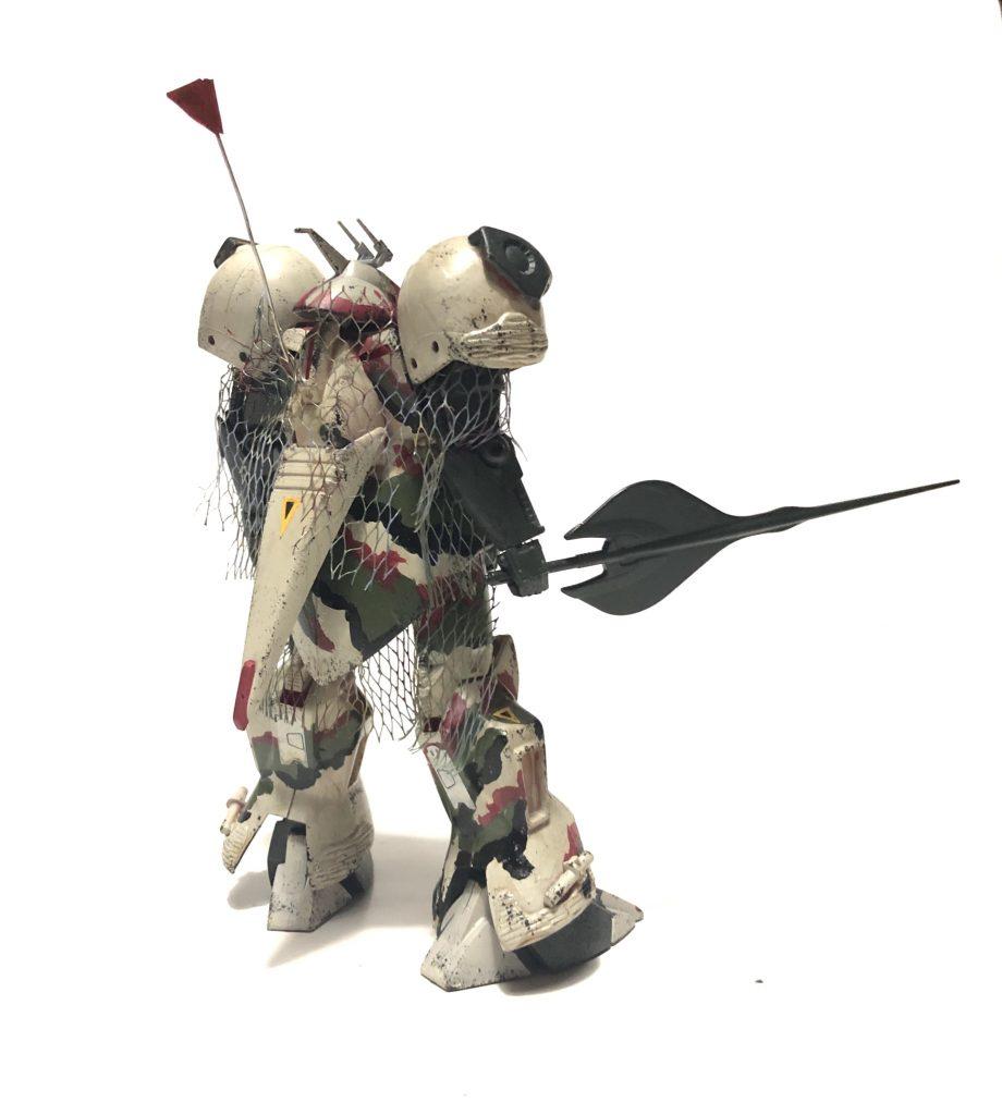 旧キット「陸戦型R・ジャジャ指揮官仕様」 アピールショット4