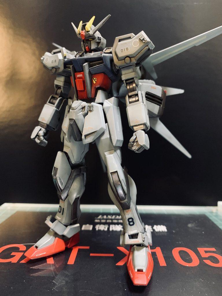 航空自衛隊新装備 GAT-X105 アピールショット1