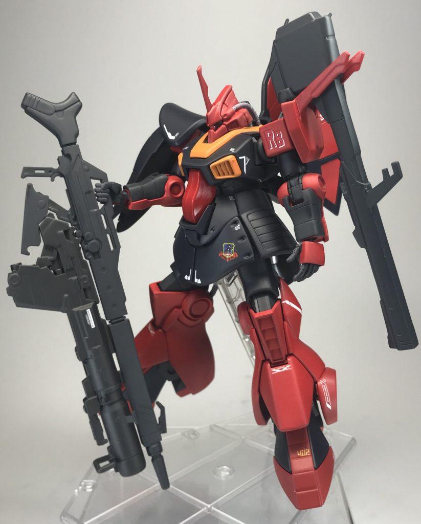 HG MSK-008 ディジェ【真紅の稲妻】〜重武装〜