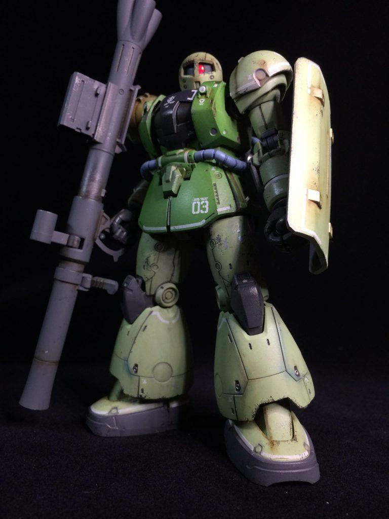 HG ヴァッフ(実戦配備仕様) アピールショット1