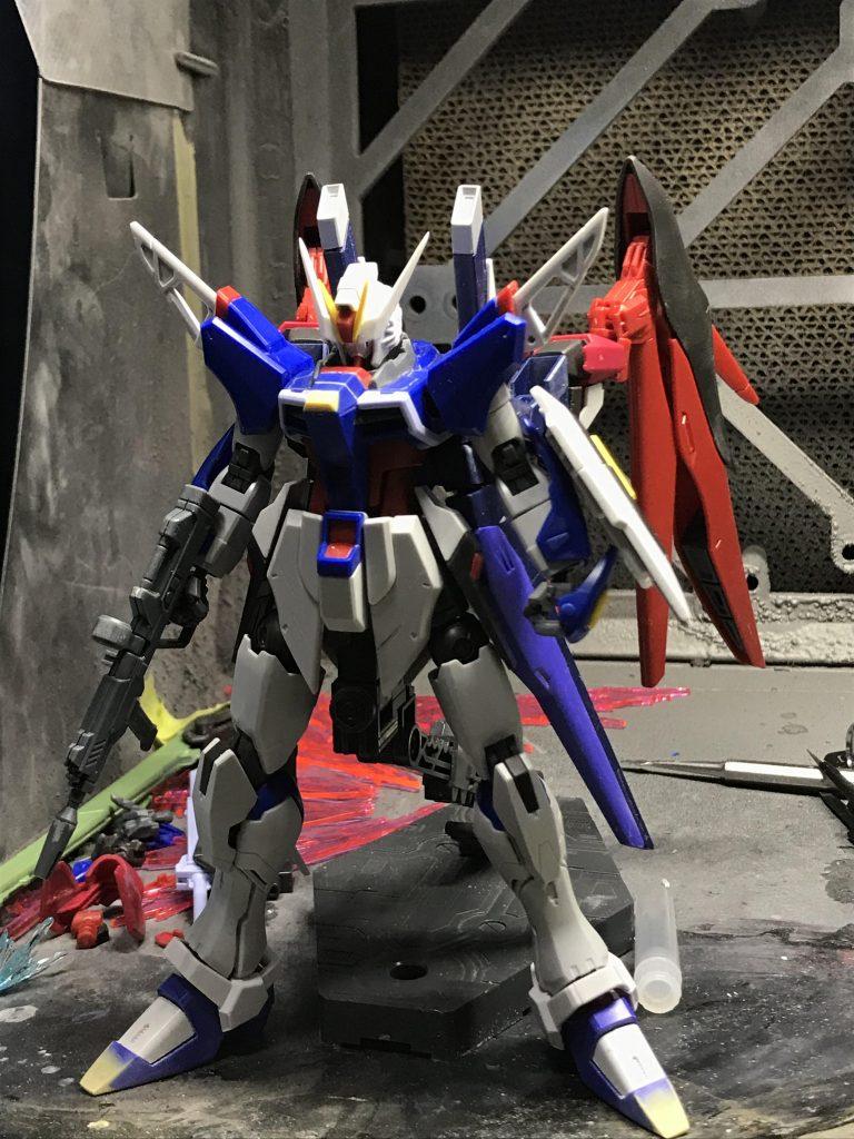 ZGMF-X52Aインパルスデスティニー 制作工程5