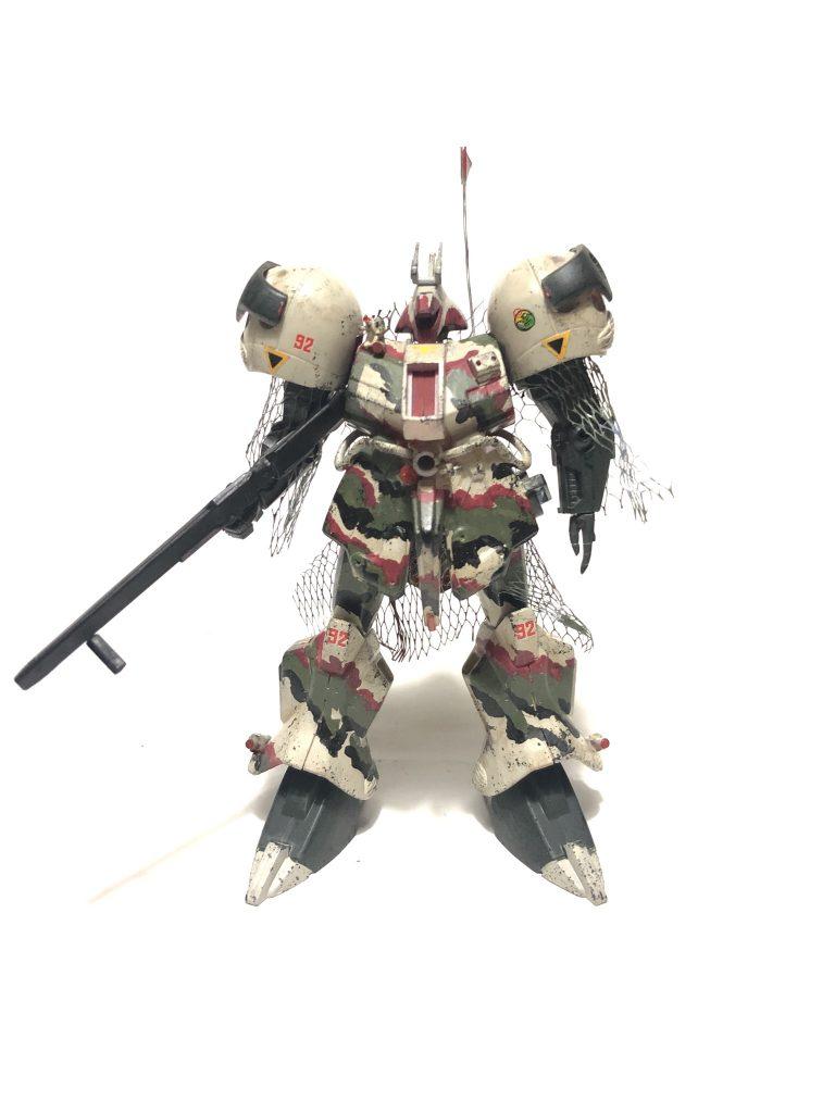 旧キット「陸戦型R・ジャジャ指揮官仕様」 アピールショット1
