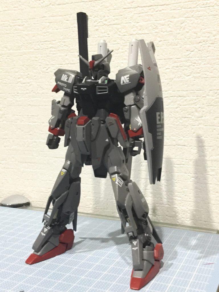 プロトガンダムMK-III「widowmaker」 アピールショット1