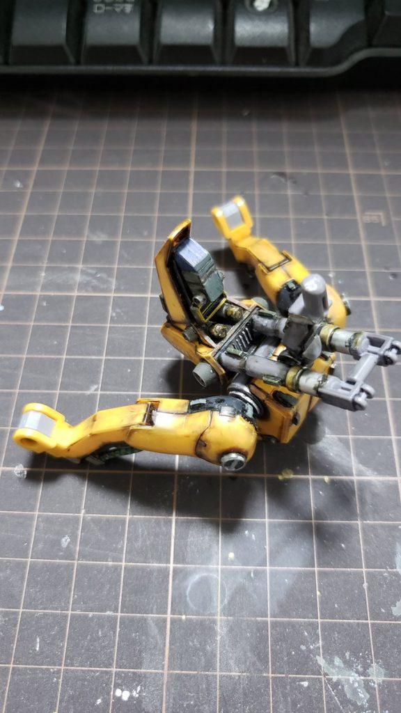 MSA-005 メタス 制作工程5
