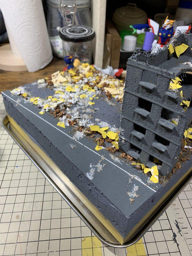 HG シャイニングガンダム+マックスター 制作工程6
