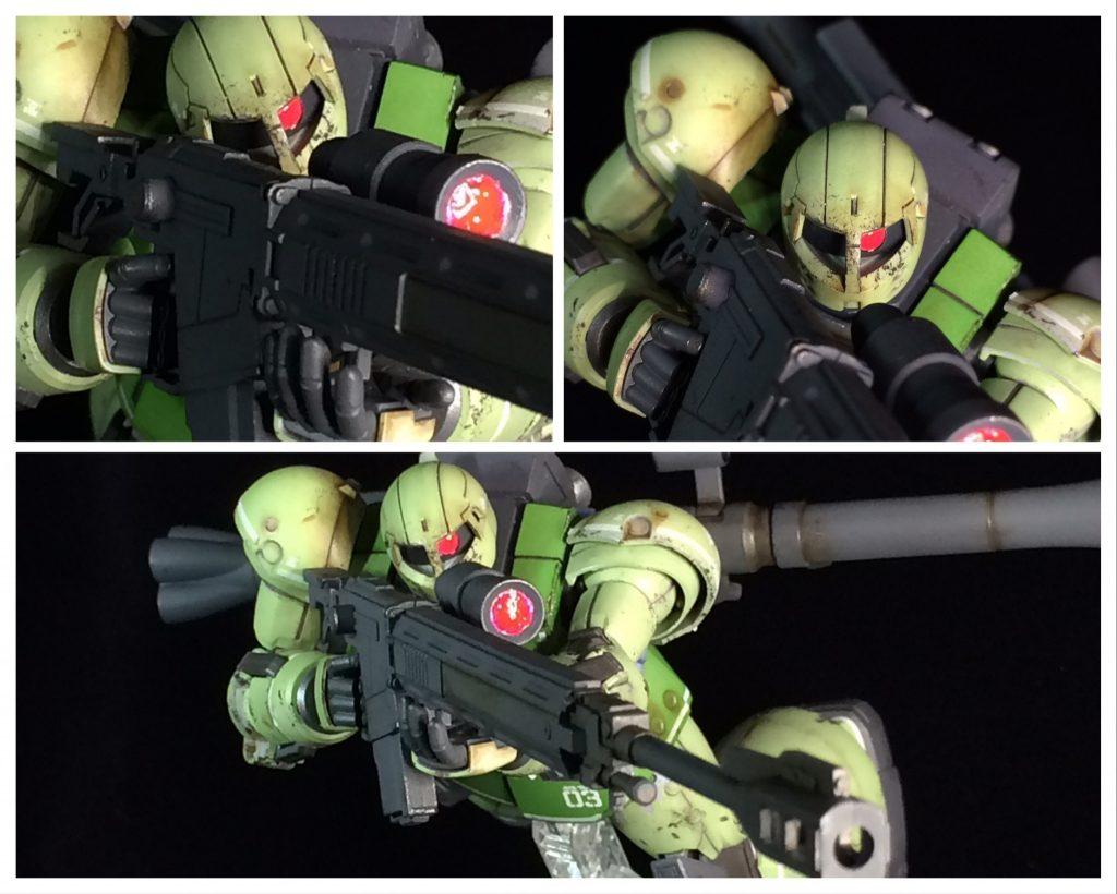 HG ヴァッフ(実戦配備仕様) アピールショット3