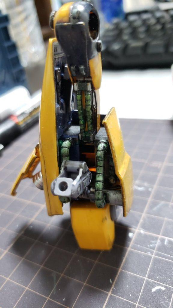 MSA-005 メタス 制作工程6