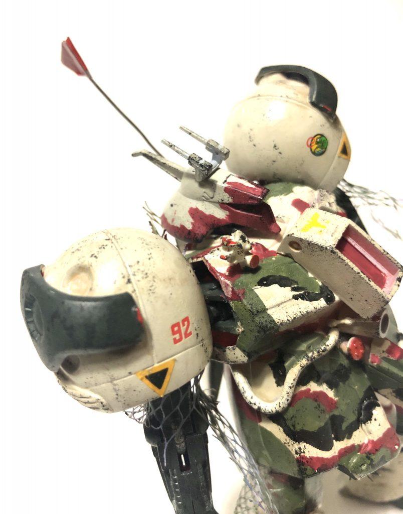 旧キット「陸戦型R・ジャジャ指揮官仕様」 アピールショット6