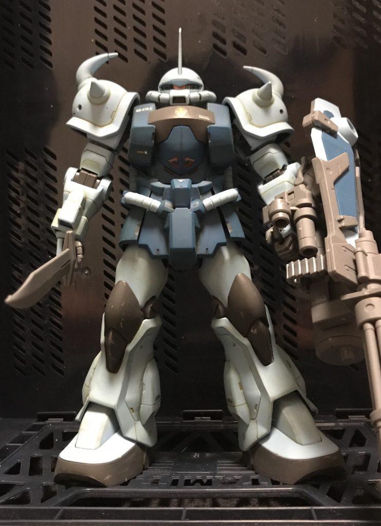 MG グフカスタム アピールショット3