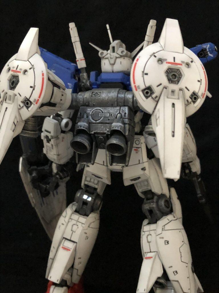 RG ガンダム試作1号機 フルバーニアン アピールショット3