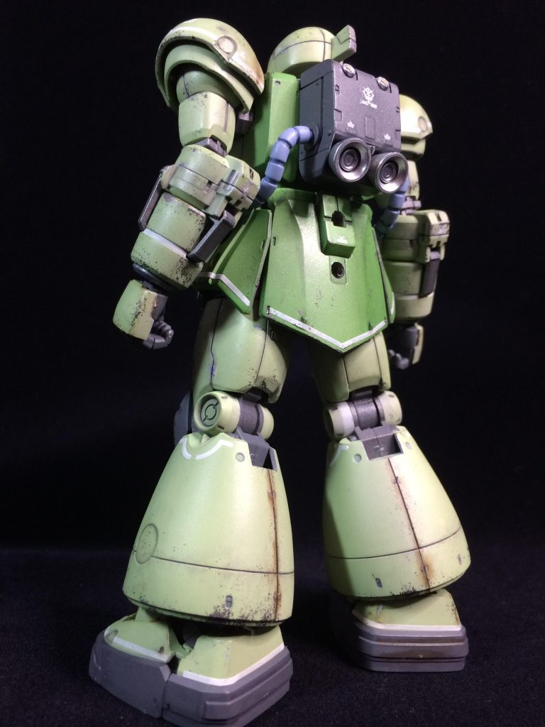 HG ヴァッフ(実戦配備仕様) アピールショット2