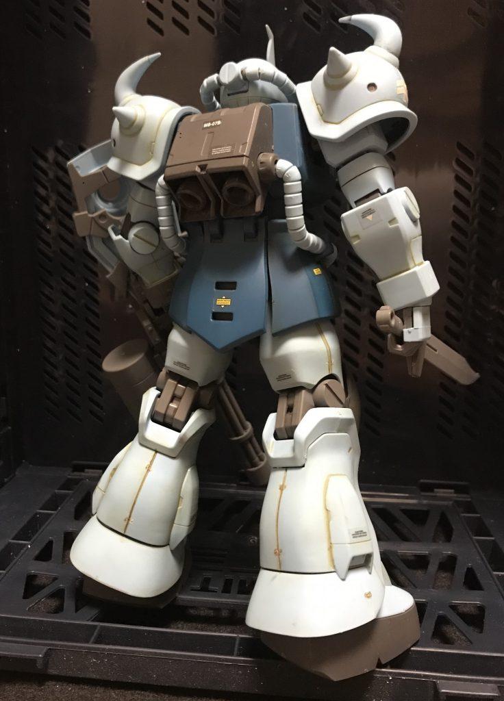 MG グフカスタム アピールショット2
