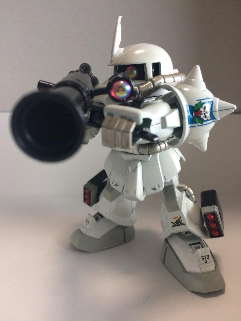 マツナガ専用高機動ザク風SDザクⅡ