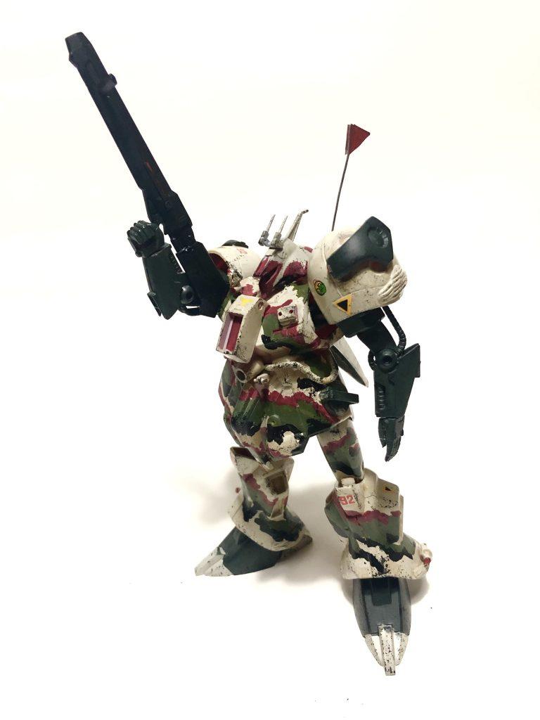 旧キット「陸戦型R・ジャジャ指揮官仕様」 アピールショット7