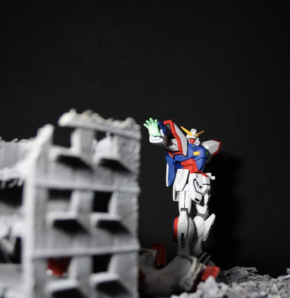 HG シャイニングガンダム+マックスター アピールショット5
