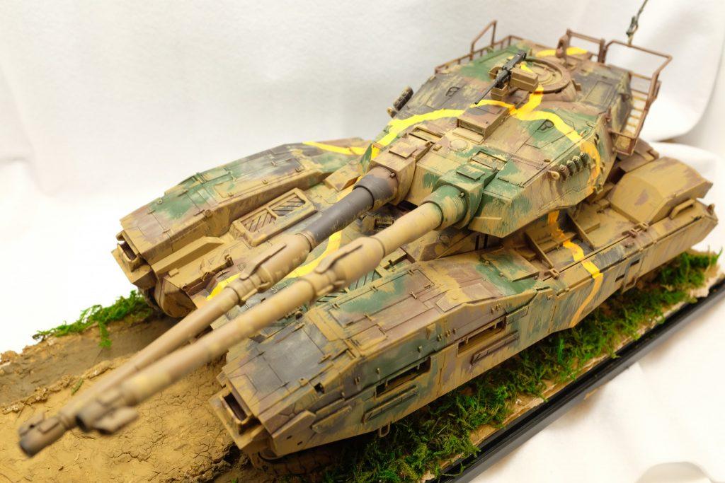 六一式中戦車チテ戊型(戦車第三十四連隊)