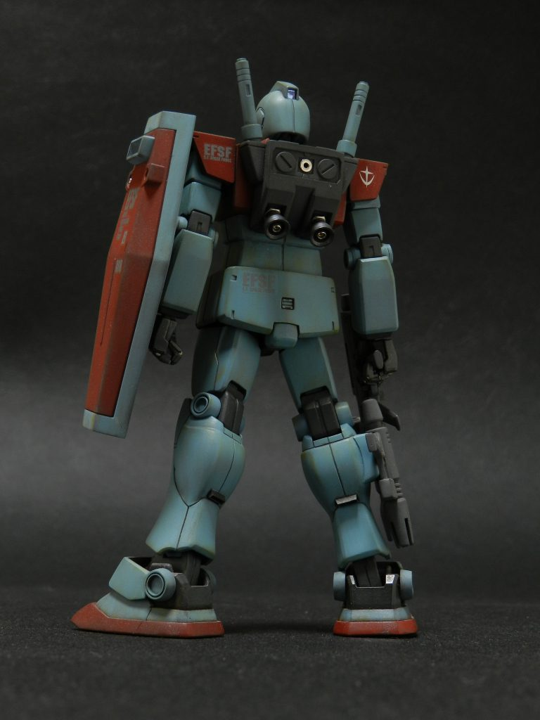 RGM-79S ジム指揮官専用機 アピールショット2