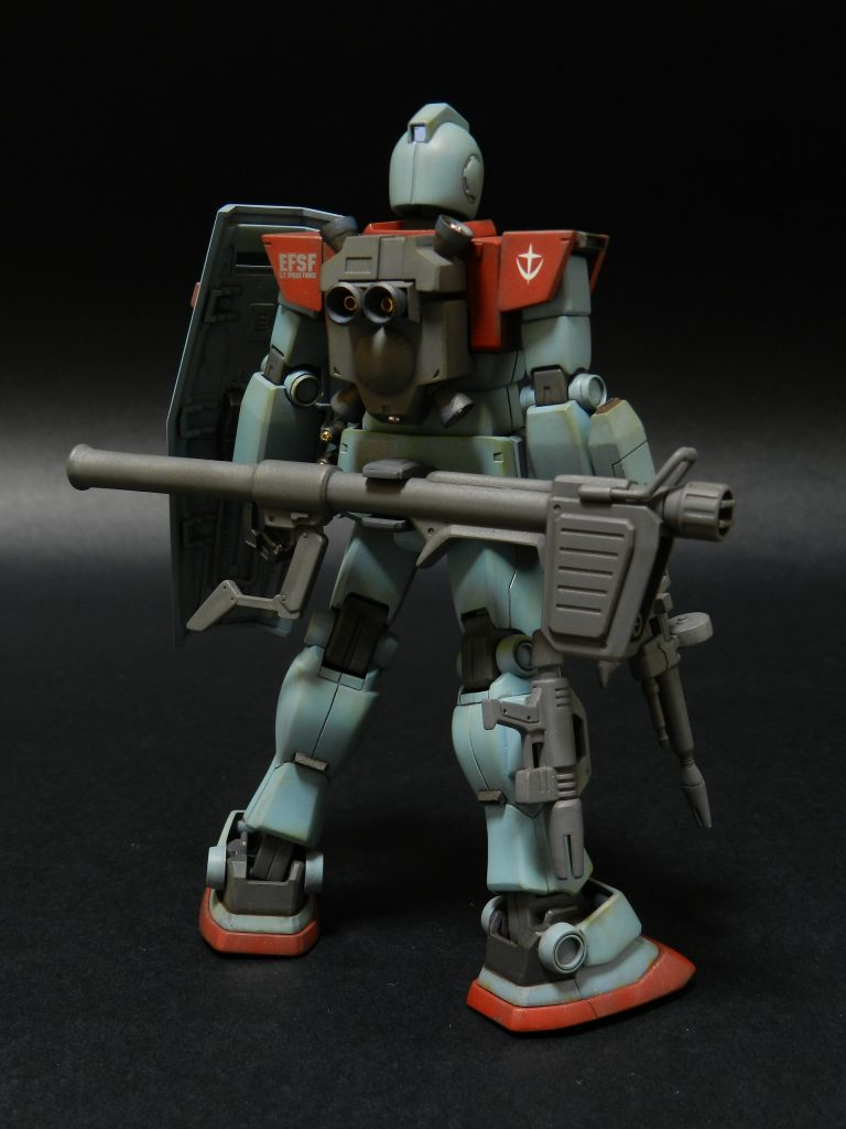 RGM-79S ジム指揮官専用機 アピールショット6