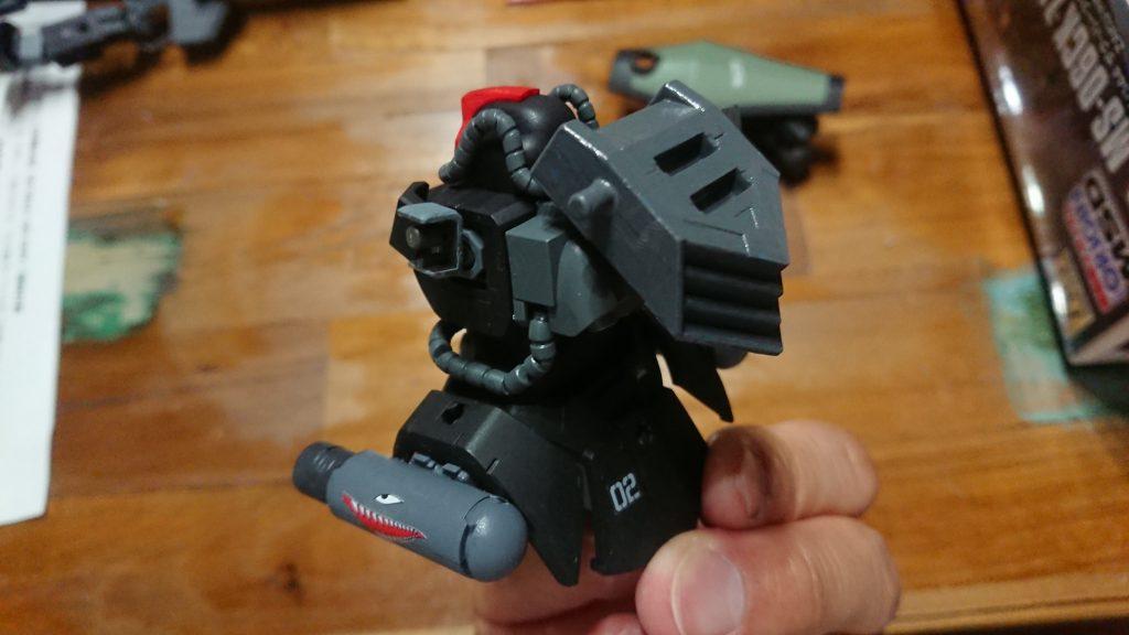 ドム試作実験機(実戦配備型)改 制作工程3