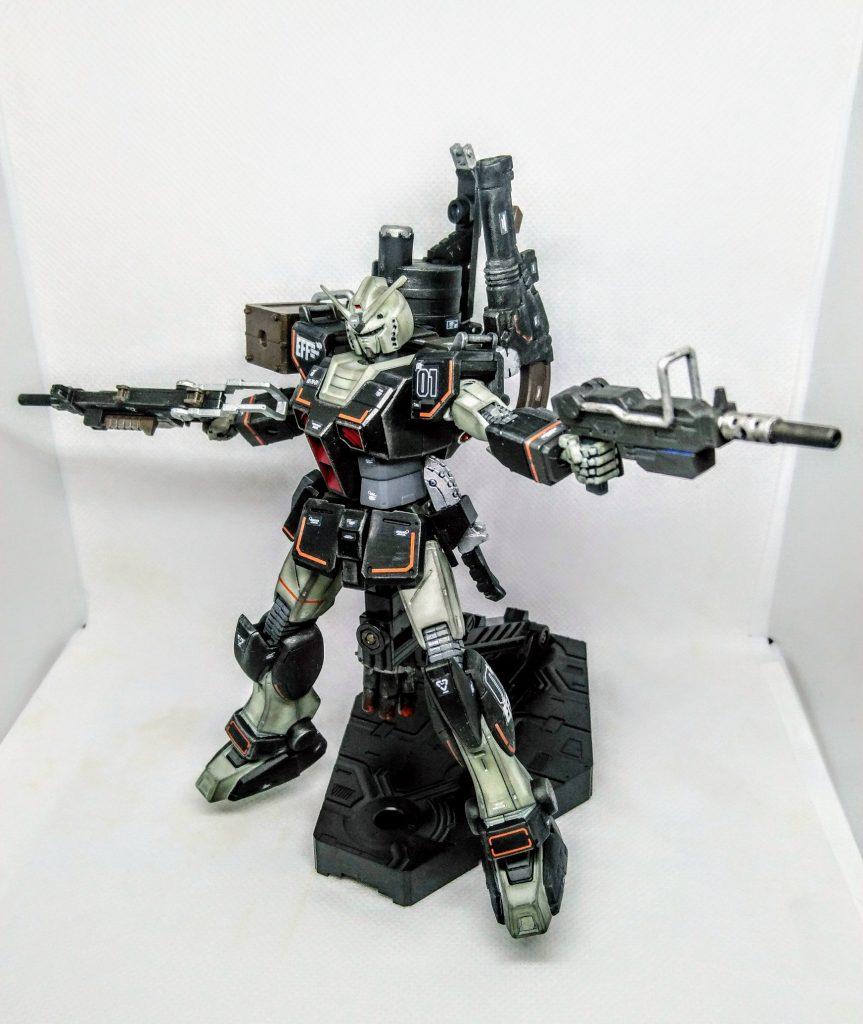プロトタイプガンダム【重火力装備】 アピールショット6