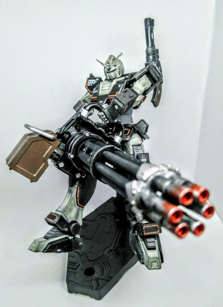 プロトタイプガンダム【重火力装備】 アピールショット8