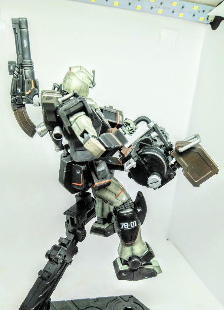 プロトタイプガンダム【重火力装備】 アピールショット5