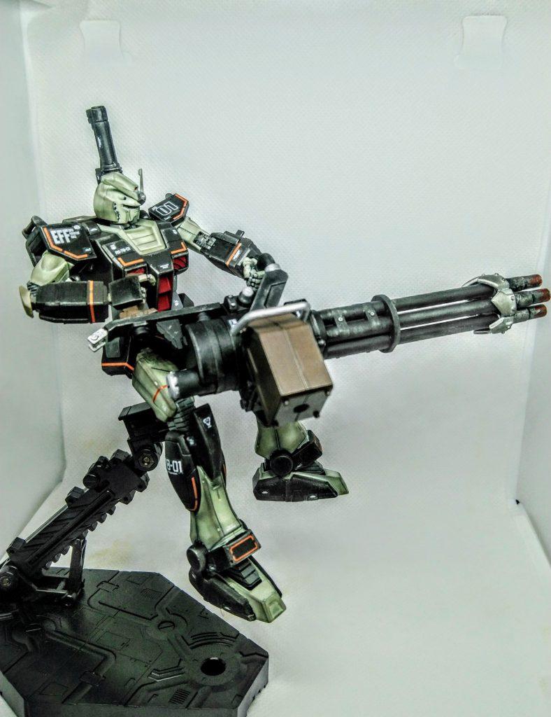 プロトタイプガンダム【重火力装備】 アピールショット4
