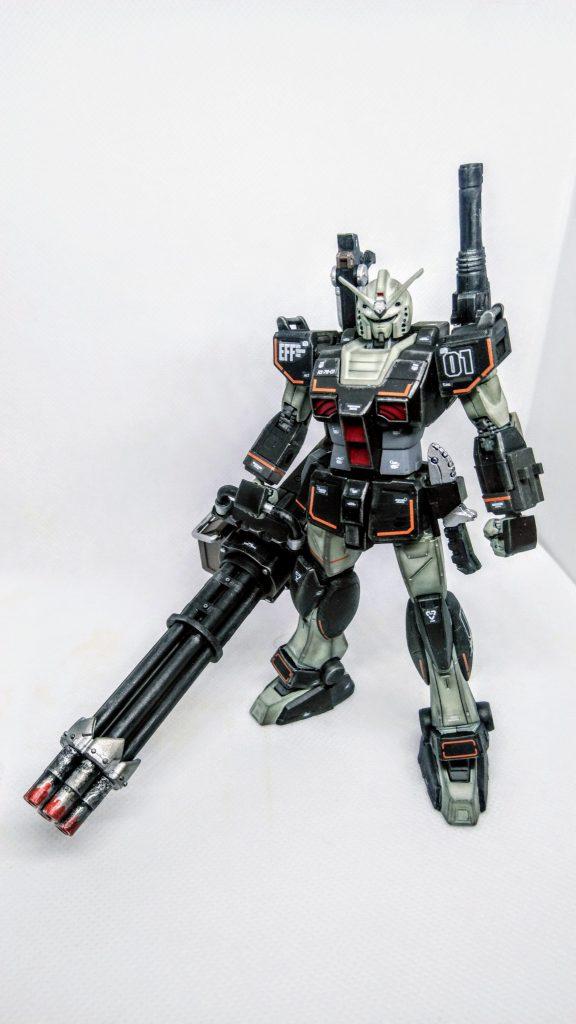 プロトタイプガンダム【重火力装備】 アピールショット1