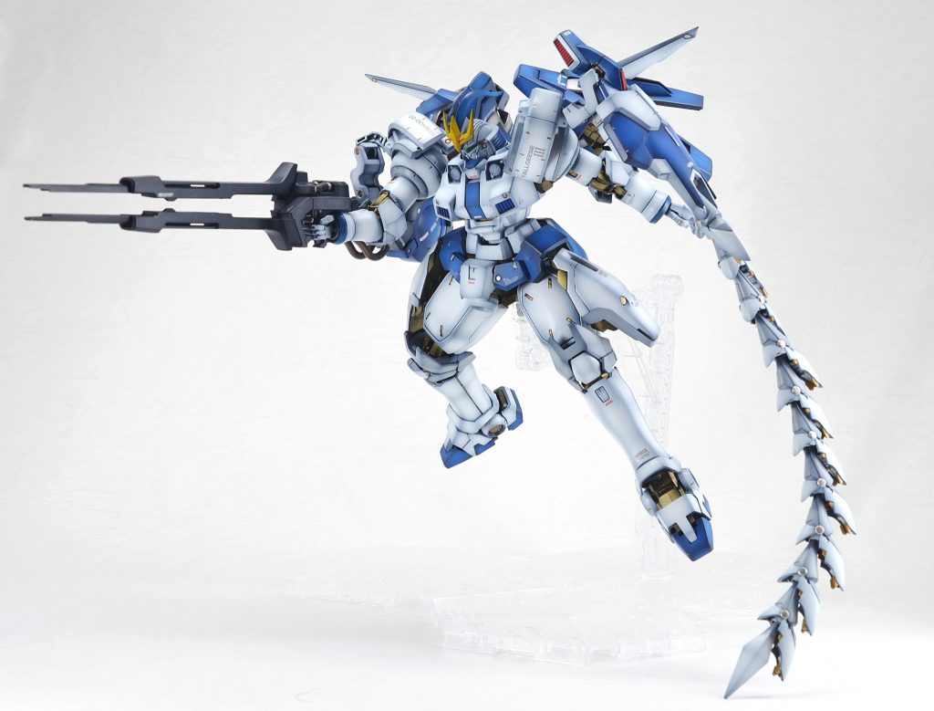 『火消しの風・ウインド』OZ00MS2B トールギスIII アピールショット4