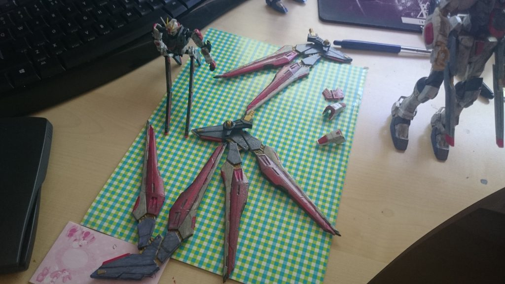 Strike Freedom Gundam 制作工程1