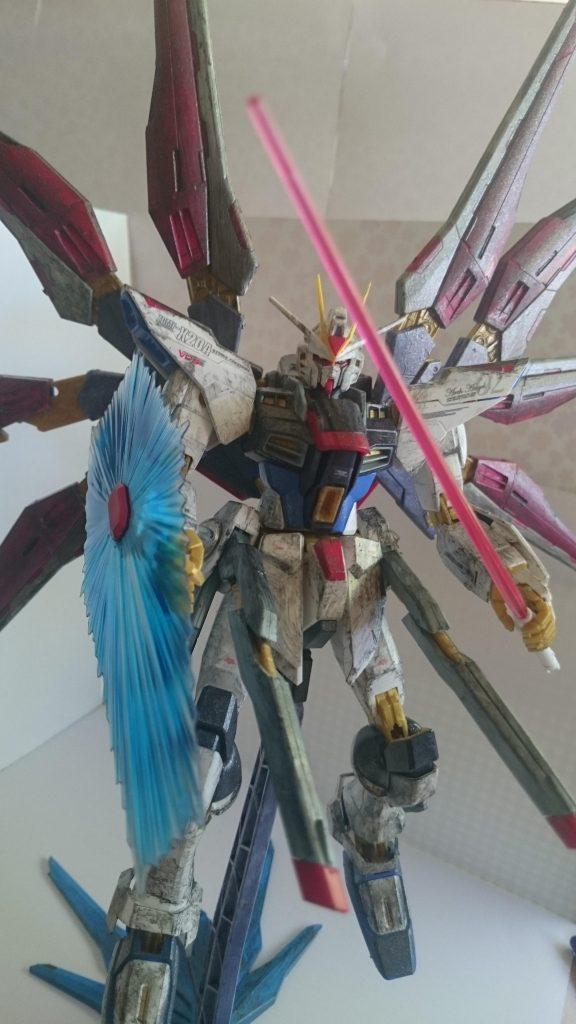 Strike Freedom Gundam アピールショット4