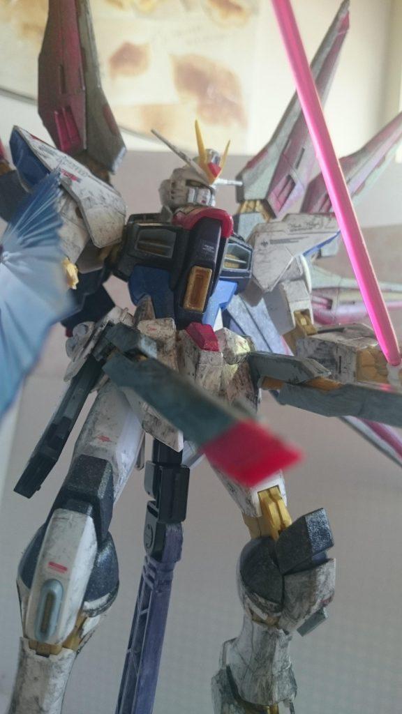 Strike Freedom Gundam アピールショット2