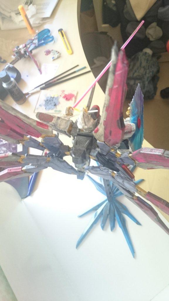 Strike Freedom Gundam 制作工程3