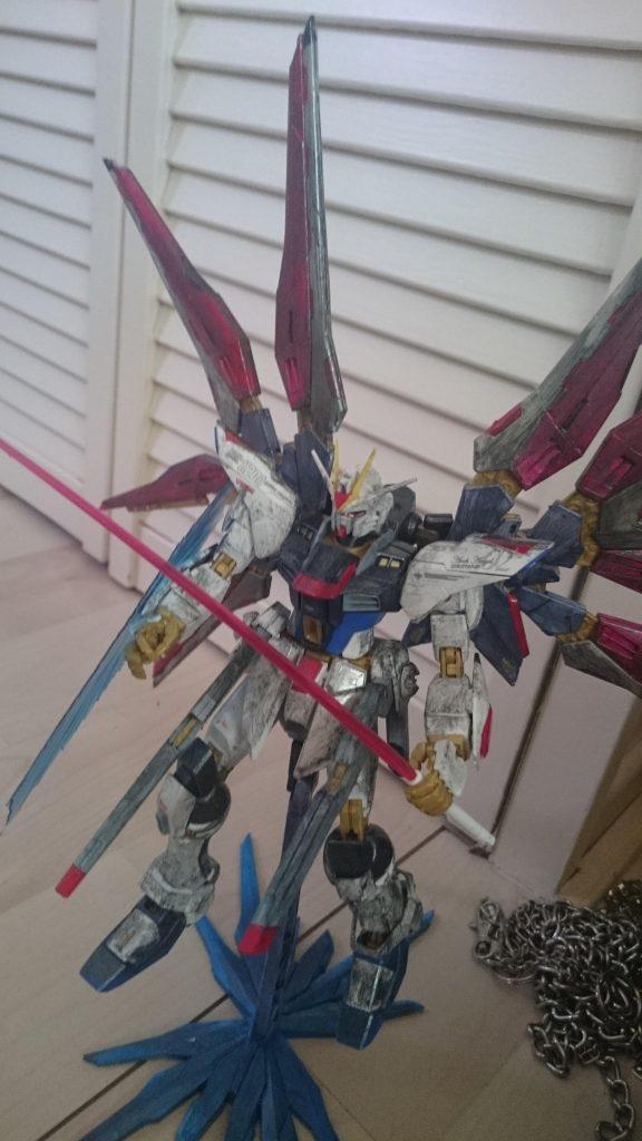 Strike Freedom Gundam アピールショット1