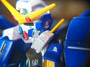 GN-002  GUNDAM DYNAMES〔Blue shield〕ガンダムデュナメス ブルーシールド