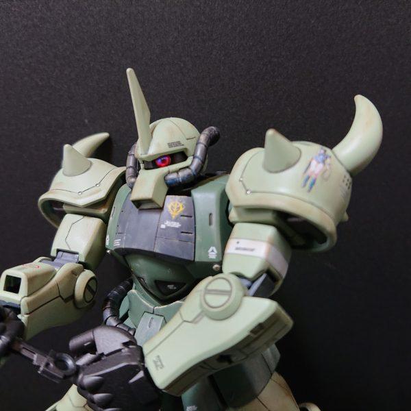 MS-07B 【Local fighter type】グフ 局地戦闘仕様