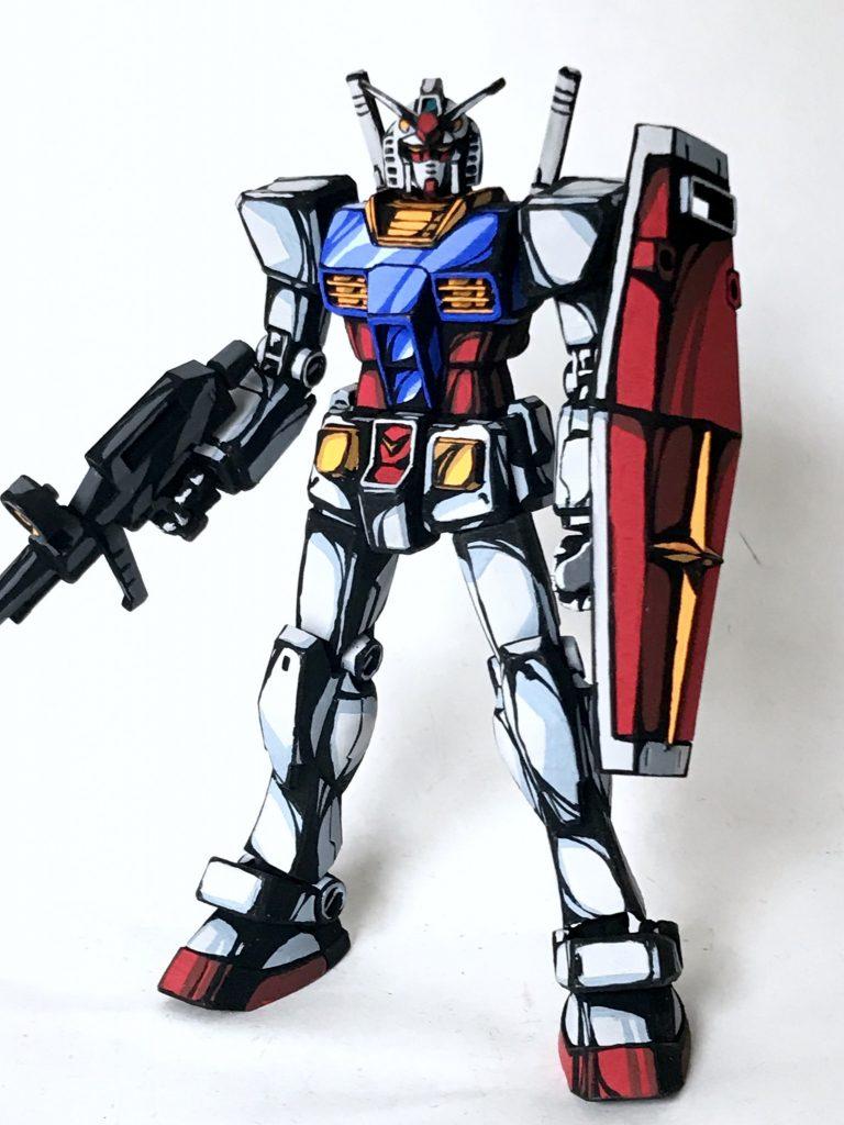 1/144 RX-78-2 ガンダム イラスト風