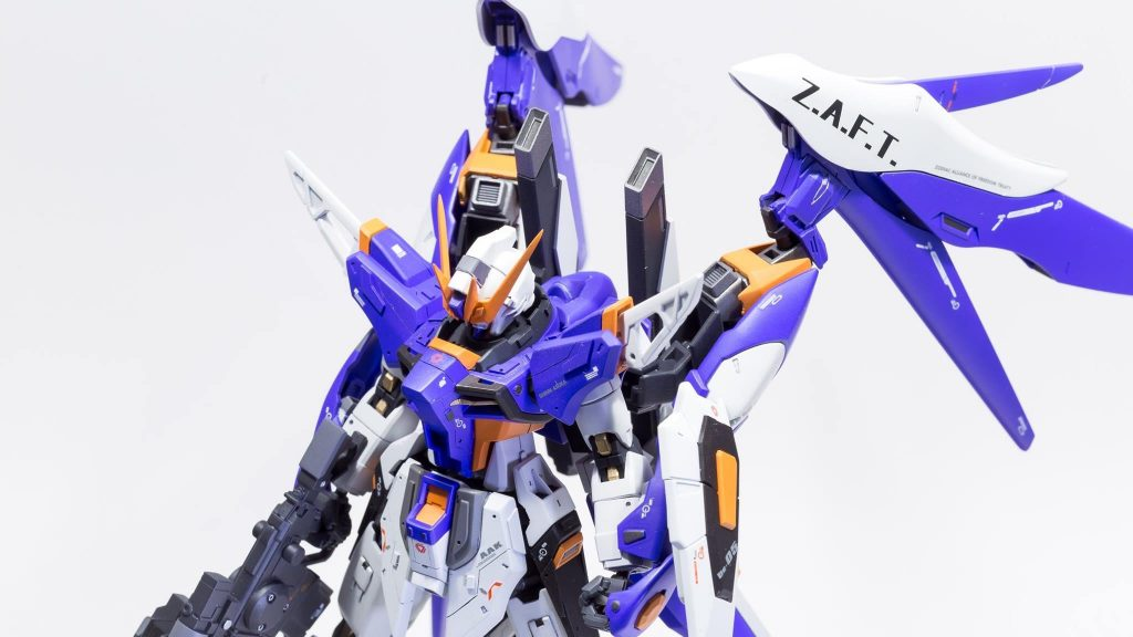 ZGMF-X52Aインパルスデスティニー 制作工程2